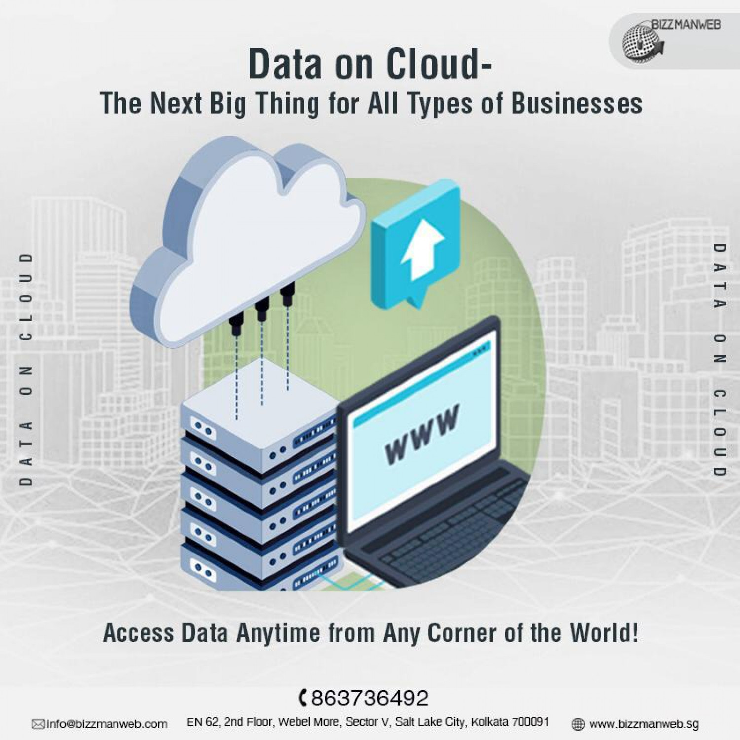 Cloud-based Data Solutions! Infographic