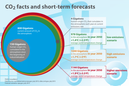 CO2 facts and short-term forecasts Infographic
