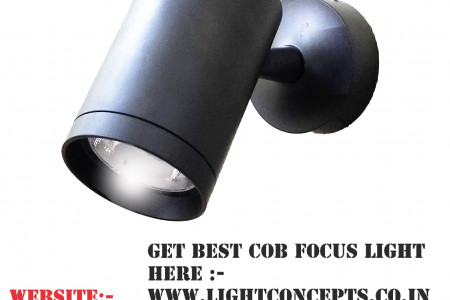 COB Focus Light Infographic