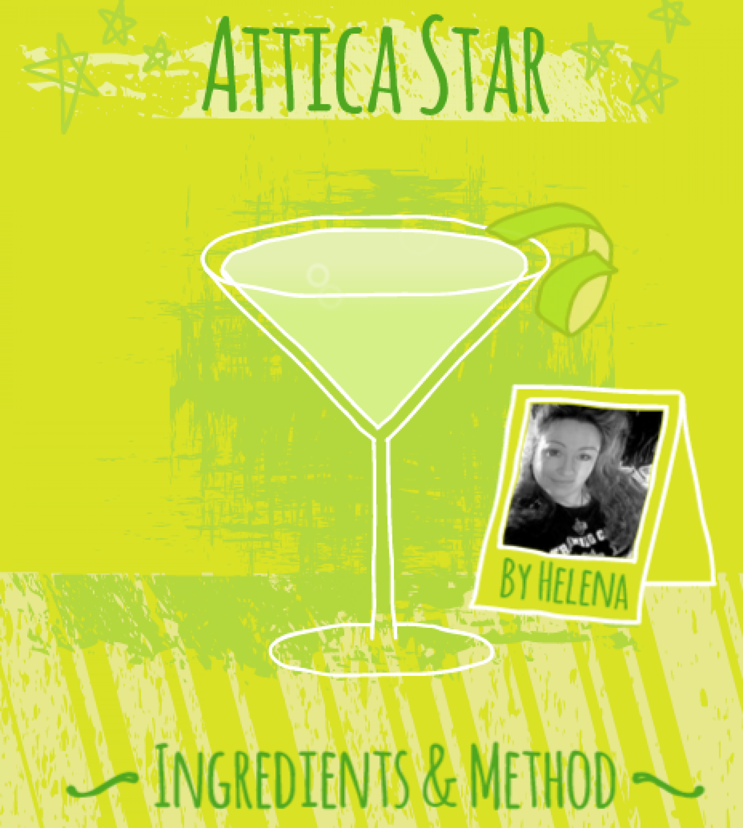 Cocktail Favourites: Attica Star Infographic