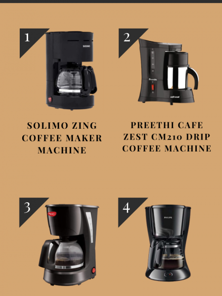 Coffee Maker Machine For Home Use Infographic