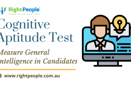 Cognitive Aptitude Test: Measure General Intelligence in Candidates Infographic