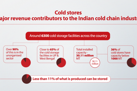 Cold Chain Plays a Major Role In Handling Temperature-Sensitive Products | Danfoss Infographic