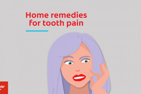 Colgate Tooth Pain Home Remedies Infographic