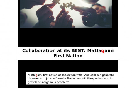 Collaboration at its BEST: Mattagami First Nation Infographic