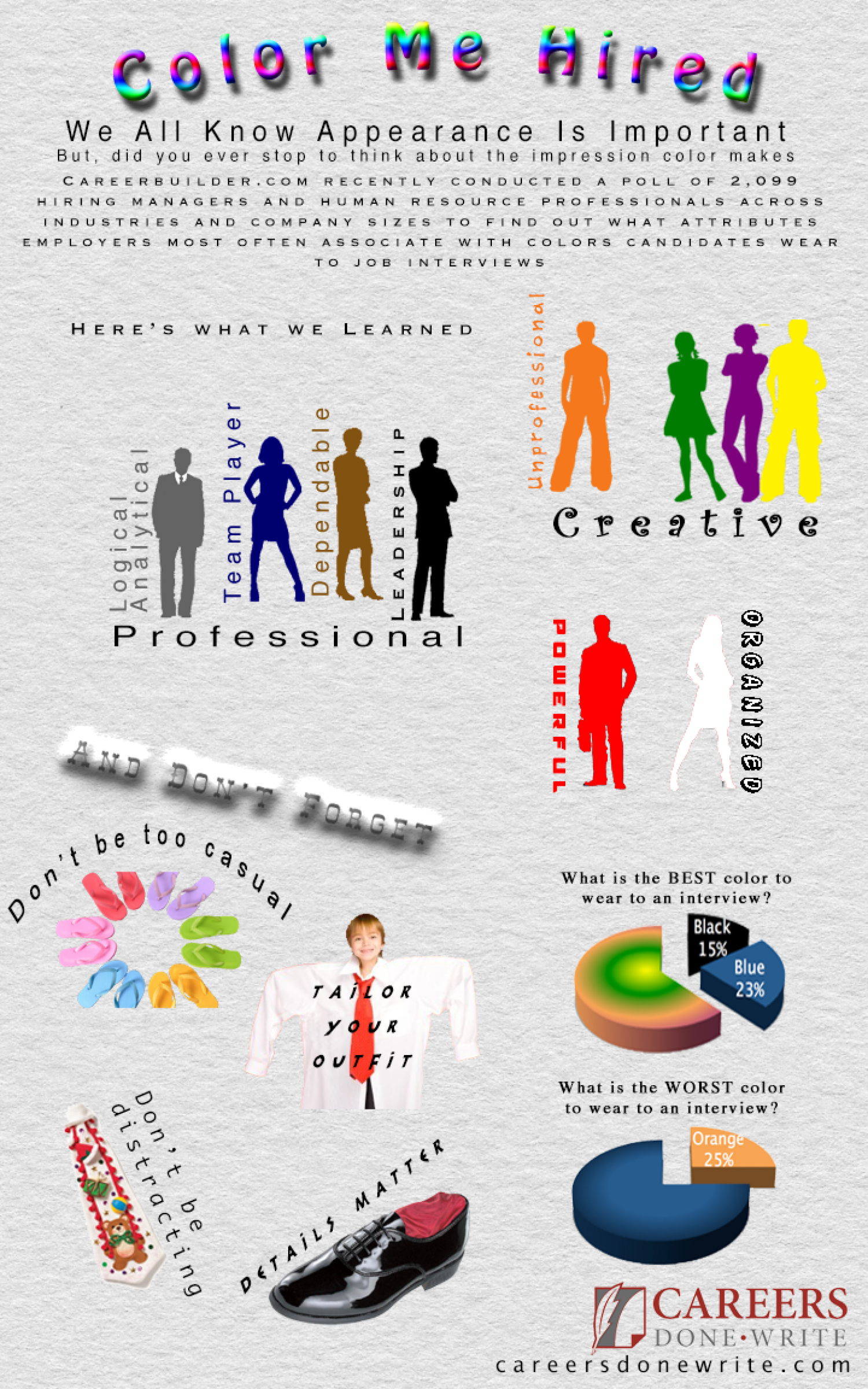 Color Me Hired Infographic