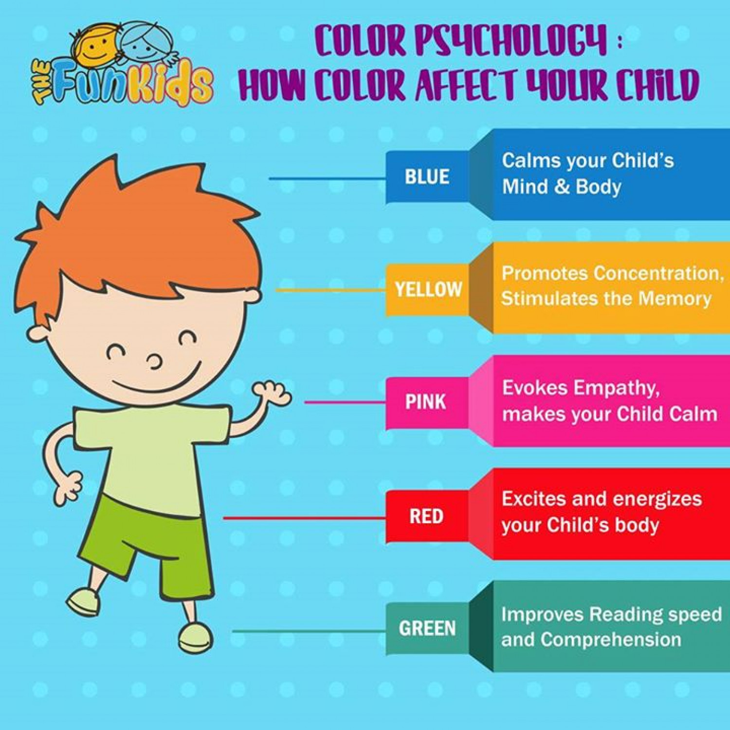 Color Psychology - The Effect of Color on Your Child | Visual.ly