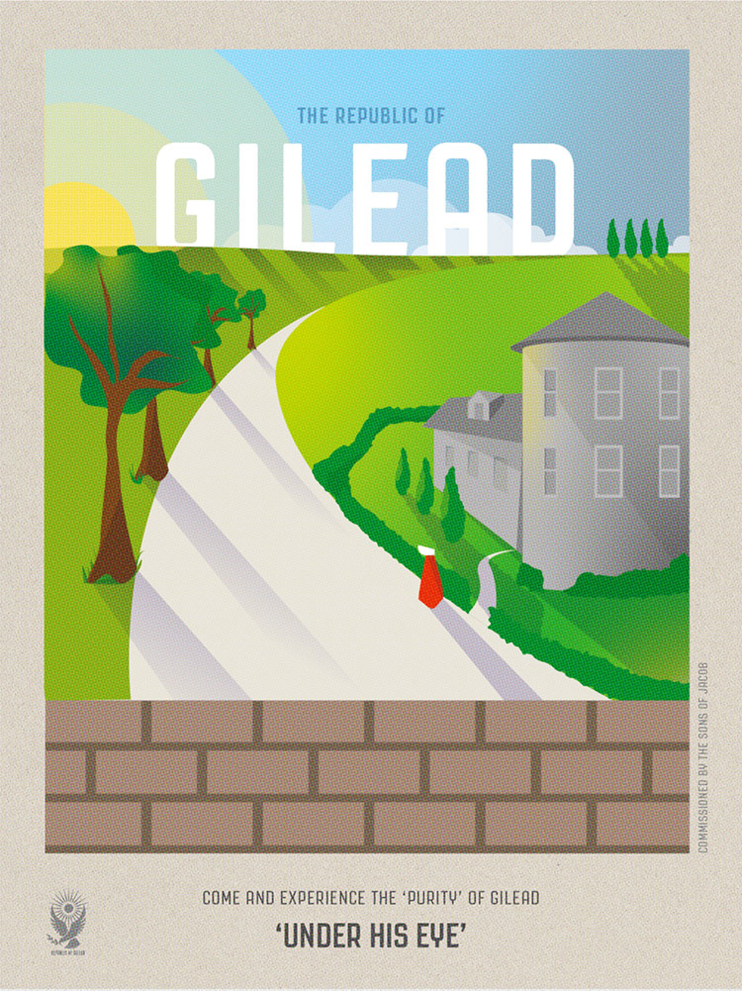 Come to Gilead!  Infographic