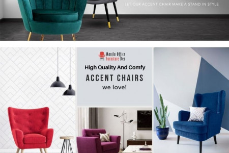 Comfortable Accent Chairs For Your Living Room Infographic