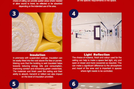 Commercial Ceilings: 8 Things to Consider Infographic