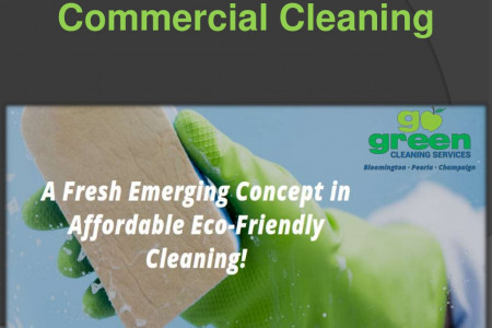 Commercial Cleaning in Bloomington Infographic