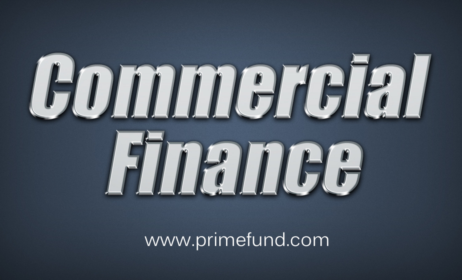 Commercial Finance  Infographic