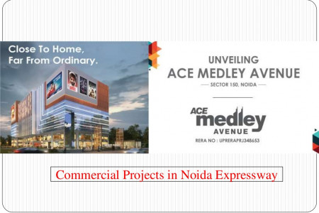 Commercial Projects in Noida Expressway - Ace Medley Avenue Infographic