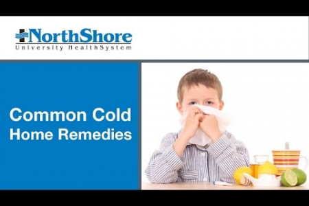 Common Cold Home Remedies for Kids Infographic