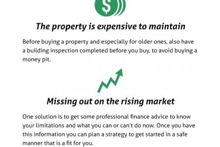 Common Fears that Hold People Back from Property Investing Success Infographic