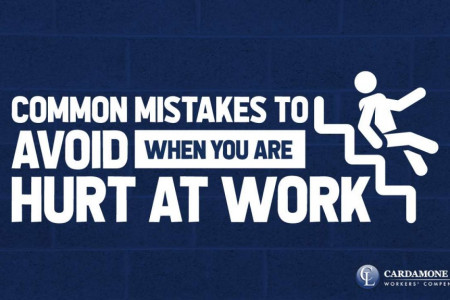 Common Mistakes to Avoid When You Are Hurt At Work Infographic