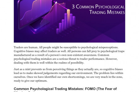 Common Psychological Trading Mistakes Infographic