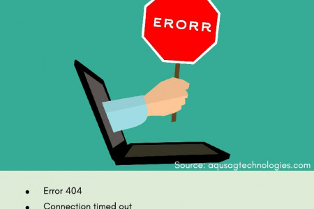 Common Website Errors and How to Eliminate Them Infographic