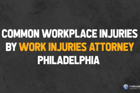 Common Workplace Injuries by Work Injuries Attorney Philadelphia Infographic