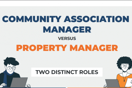 Community Association Manager vs Property Manager Infographic