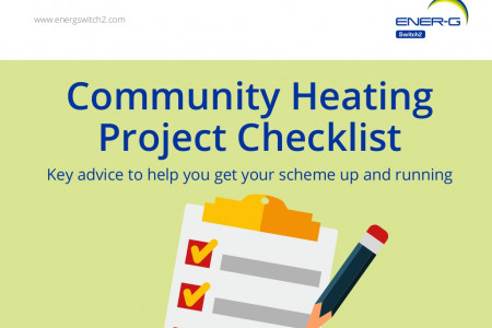Community Heating Project Checklist Infographic