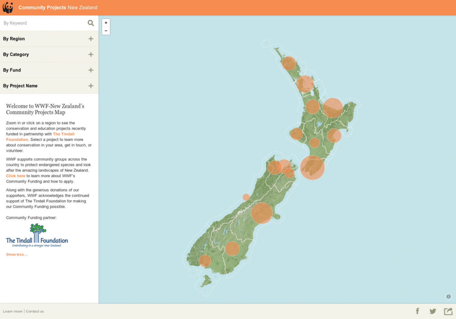 Community Projects New Zealand Infographic
