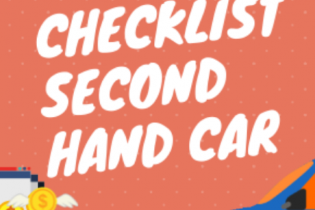 Complete checklist to buy a second hand car Infographic