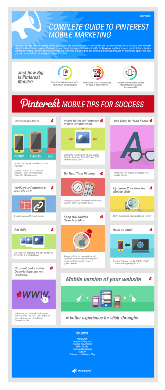 Complete Guide to Pinterest Mobile Marketing