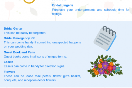 COMPLETE LIST OF THINGS YOU NEED TO BUY FOR A WEDDING Infographic