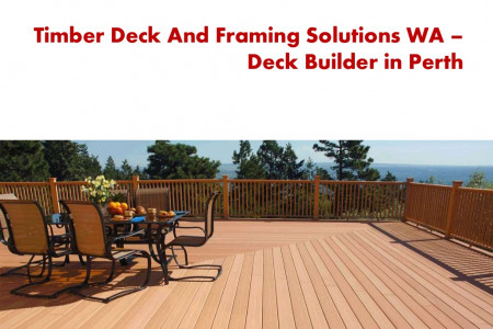 Composite Decking in Perth - Timber Deck and Framing Solutions Infographic