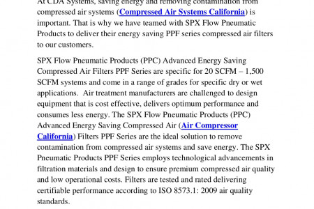 Compressed Air Systems California | Air Compressor California   Infographic