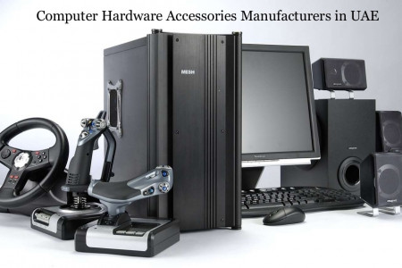 Computer Hardware Manufacturers and Suppliers in UAE Infographic