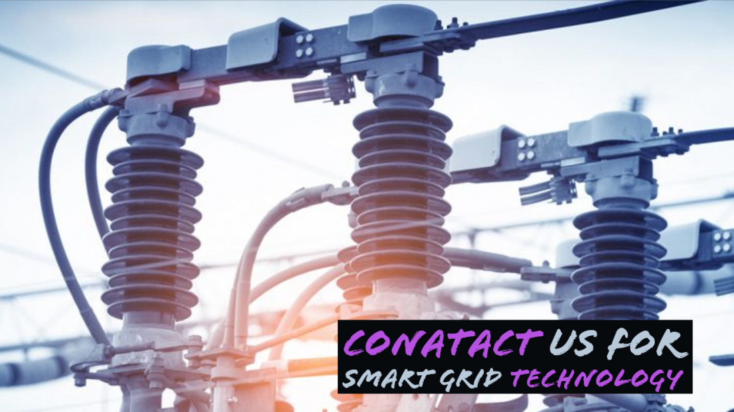 Conatact Us For Smart Grid Technology Infographic