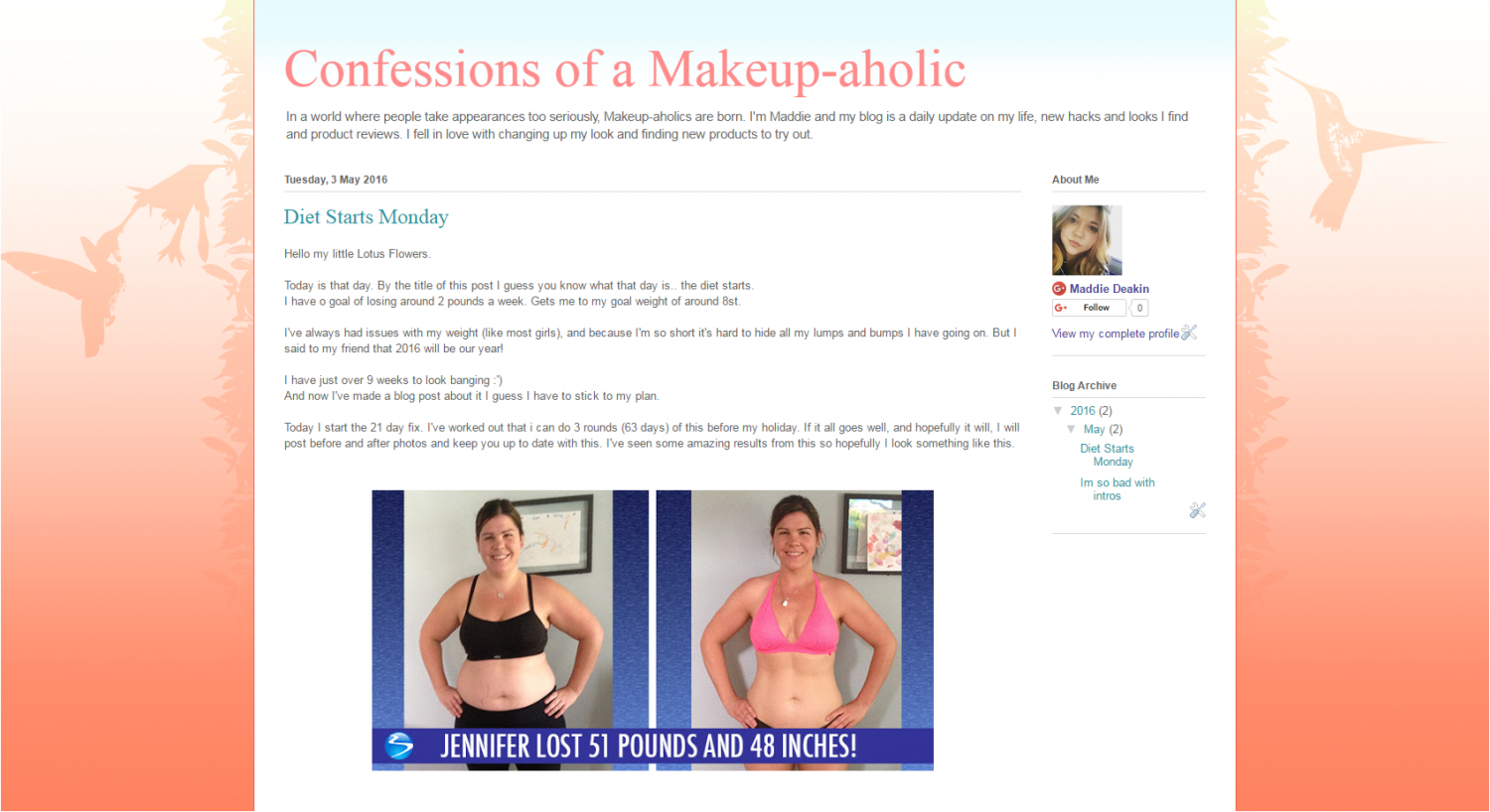 Confessions of a Makeup-aholic Infographic