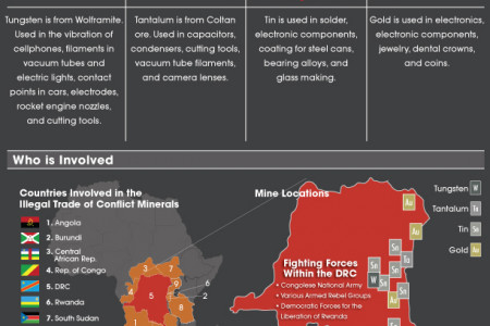 Conflict Minerals 3TG Infographic