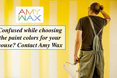 Confused while choosing the paint colors for your house? Contact Amy Wax Infographic