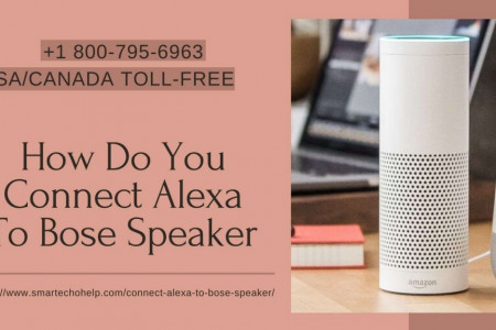 Connect Bose Speaker to Alexa 1-8007956963 Connect Bose Soundlink to Echo Dot Infographic