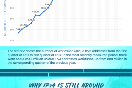 Connect to the World of Internet with IPv4 – Infographic Infographic