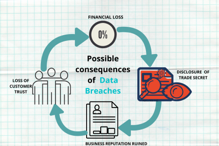 Consequences of Data Breaches Infographic