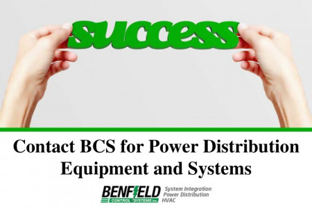 Contact BCS for Power Distribution Equipment and Systems Infographic