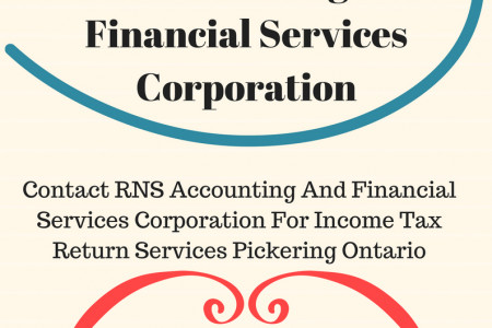 Contact RNS Accounting And Financial Services Corporation For Uber Income Tax Scarborough, Ontario Infographic