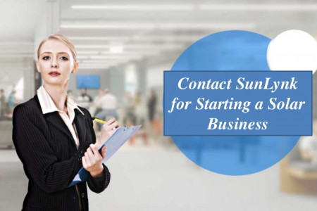Contact SunLynk for Starting a Solar Business Infographic