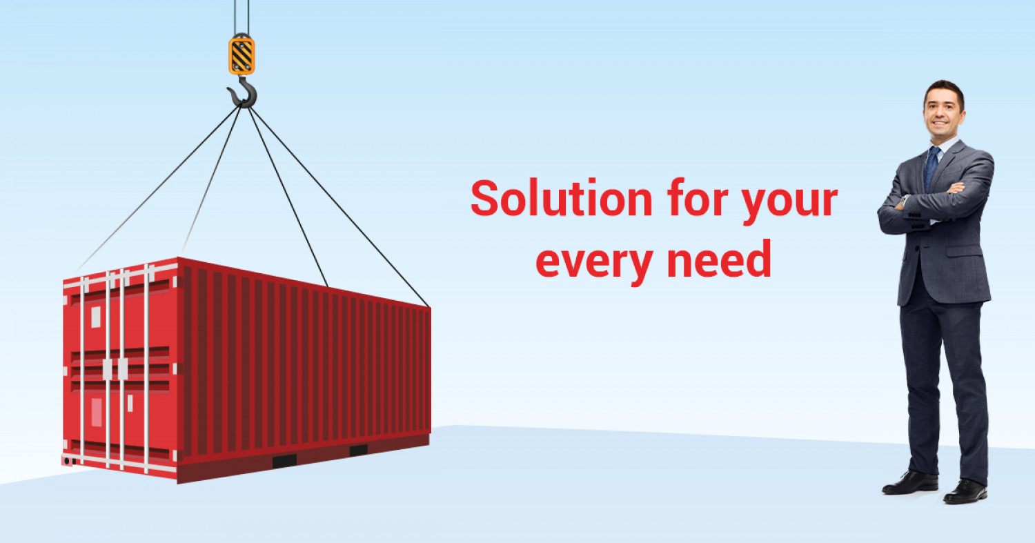 Container for your needs Infographic