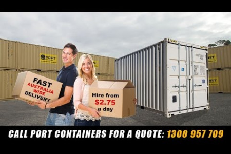 Containers Hire Infographic
