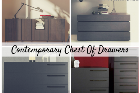 Contemporary Chest of Drawers Infographic