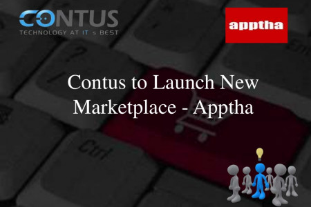 Contus to launch new marketplace-Apptha Infographic