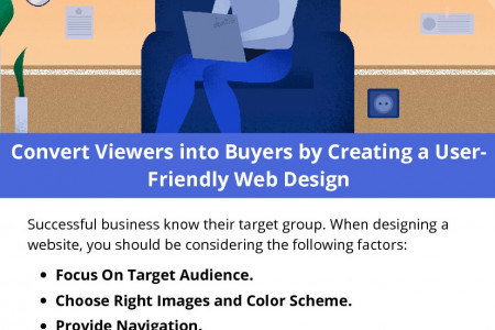 Convert Viewers into Buyers by Creating a User-Friendly Web Design Infographic