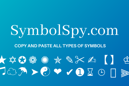 Cool Symbol Infographic