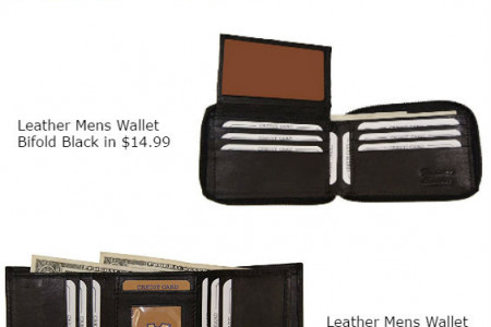 Cool Wallet Under $15 USD Infographic
