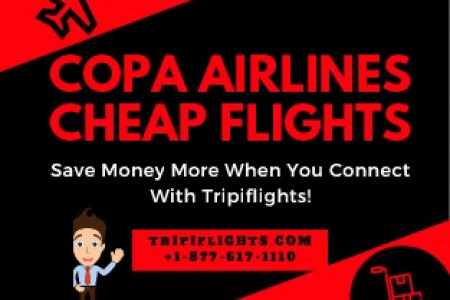 Copa Airlines - Tripiflights - Copa Airlines Resrvations Infographic